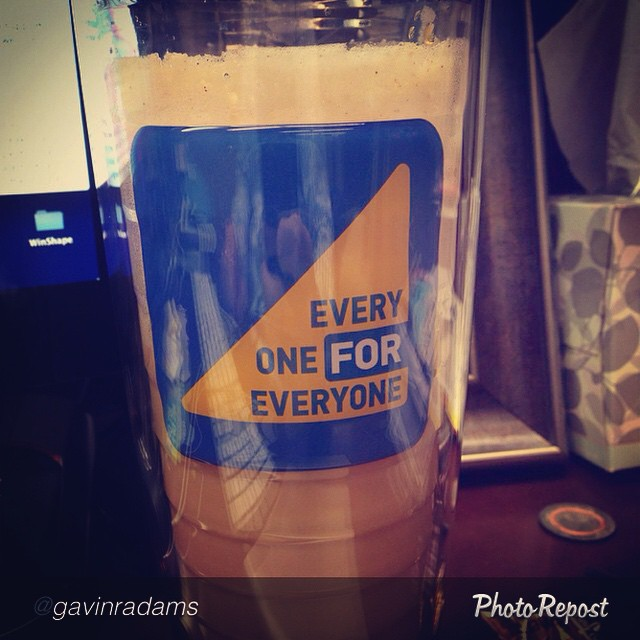 "by @gavinradams ""The official coffee of @Watermarke #watermarkeeveryone"" happy #NationalCoffeeDay"