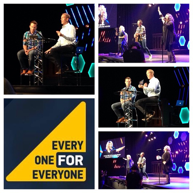 Incredible morning with our senior pastor @andy_stanley as our special guest. If you missed it be sure to come to the 5 o'clock service tonight! #WatermarkeEveryone